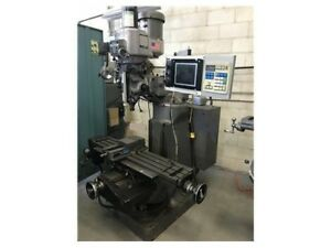 Bridgeport E z Trak Sx Knee Miller 2 Hp 4 200 Rpm Under Power And Running