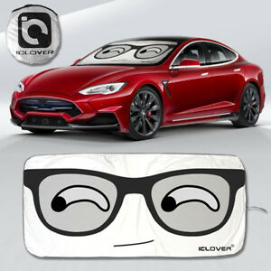 Big Car Front Window Sun Shade Visor Suv Windshield Sunshade Cartoon Block Cover