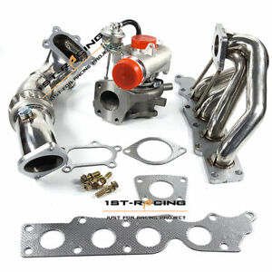 K0422 582 Turbo Exhaust Manifold 3 Down Pipe For 07 13 Mazdaspeed 3 2 3l