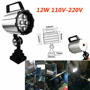 12w Milling Lathe Led Lighting Work Light 11 2 Grinder Machine Cnc 110v 220v