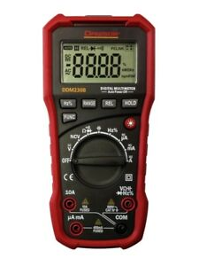 Dawson Ddm230b Digital Multimeter W usb