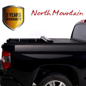 Soft Vinyl Roll up Tonneau Cover Fit 14 18 Silverado sierra 6 5 Fleetside Bed