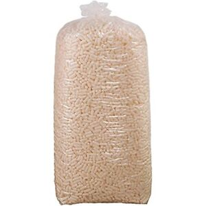 Tl7nutsb Environmentally Friendly Loose Fill Packing Peanuts 7 Cubic Feet White