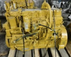 2003 Cat 3126e Diesel Engine All Complete And Run Tested