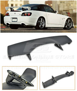 Eos Cr Style Primer Black Rear Trunk Wing Spoiler For 00 09 Honda S2000 Ap1 Ap2