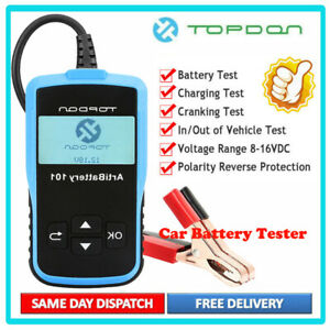 Topdon Ab101 12v 24v Car Battery Tester Auto Analyzer Cranking Charging Tester