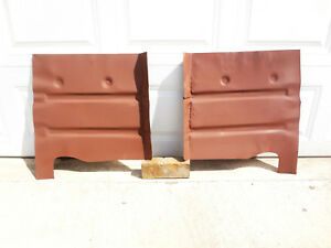1955 1956 Ford Mercury Front Floor Pans Sections Usa Floorboard 18g Left Right