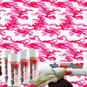 Hydro Dipping Water Transfer Printing Hydrographic Film Dip Kit Pink Camo Mc 240