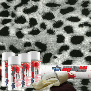 Hydro Dipping Water Transfer Printing Hydrographic Dip Kit Grey Cheetah Dd952