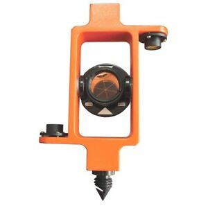 Sitepro 25mm Mini Stakeout Peanut Prism With Top Bottom Level Vial For Survey