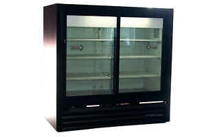 True Gdm 41c Sliding Glass 2 Door Commercial Cooler Refrigerator Free Shipping