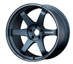 Rays Volk Te37 Ultra Forged Rims Blue Gunmetal 8 0j 19 48 For 86 Brz From Japan