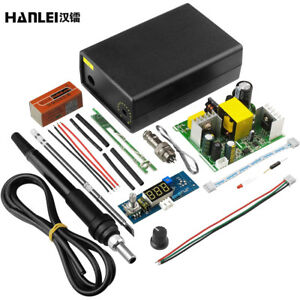Electric Unit Digital Soldering Iron Station Controller Diy Kits For Hakko T12