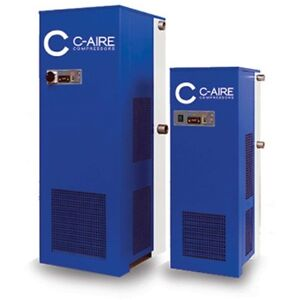 New C aire High Temperature Refrigerated Dryer 100 Cfm 115v 1 Phase
