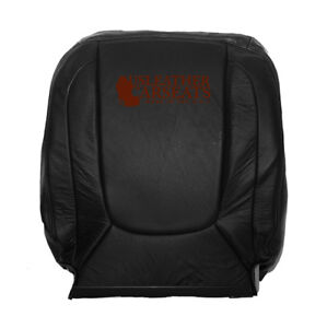2003 2004 2005 Dodge Ram 1500 2500 Driver Lean Back Leather Seat Cover Dark Gray