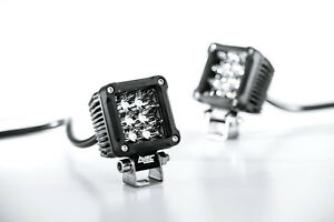 2 Inch 18w Spot Cree Led Offroad Cube Lights Truck 4wd Atv 4x4