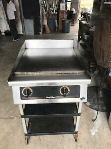 Star Ultra Max Gas Griddle