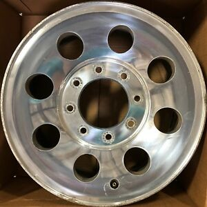 17 Inch Ford F250 F350 Srw 2005 2006 2007 17x7 5 Polished Oem Wheel Rim 3599 C