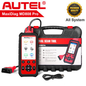 Autel Maxidiag Md808 Pro All System Obd2 Diagnostic Tool Car Code Reader Scanner