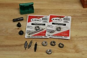 LOT LEE CASE TRIMMERS CUTTERS LOCK STUD 9MM 270 357 44     RELOADING BULLET