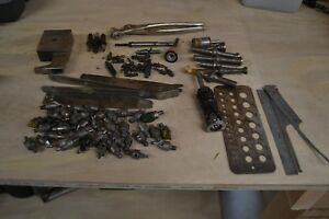 Various Lot Of Aviation Mechanic Tools And Bits Used In Good Shape