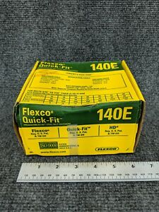 Flexco 140e Quick Fit Hd Steel Belt Fastener 25 Set Pack Item 20000