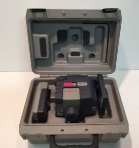 Porter Cable Robotoolz Rt 3620 2 Laser Rotating With Detector In Case