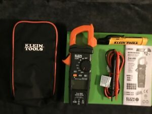 klein Tools Cl600 Digital Clamp Meter With Free Ncvt 3 Voltage Tester
