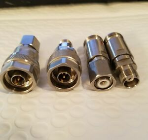 Maury Microwave Dc To 18 Ghz Tnc To N Type Set 4 Adapters