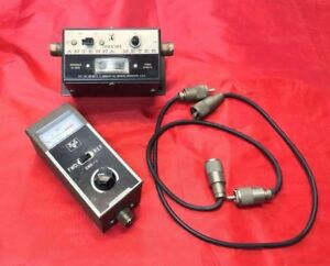 Johnson Cb Radio Parts Antenna Meter Vanco Swr 1 And Cables Lot Van Dune Buggy