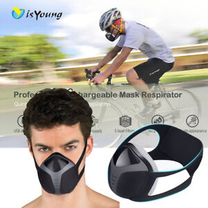 Rechargeable Gas Protect Filter Respirator Dust Mask Face Mouth Protection Mask