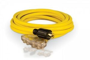 250 125 Volt Generator Cable 25 Ft l14 30p 48036 Product Details