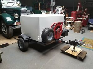 Eze Gas 390 Gallon Transfer Tank Fuel Trailer For Gasoline Or Diesel
