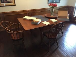 Antique Early American Dining Room Set By Conant Ball