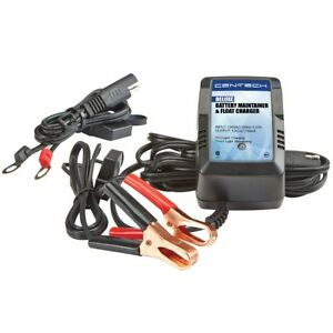 12 Volt Deluxe Battery Maintainer And Float Charger Car Truck Auto Home New