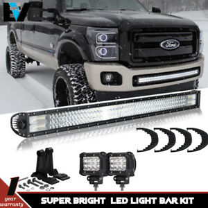 C5nn3n713a Backhoe 42inch Straight Light Bar For Ford New Holland 555 555a 555b