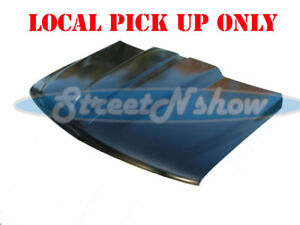 99 02 Chevy Silverado Truck 2 Cowl Induction Hood Steel Cowl