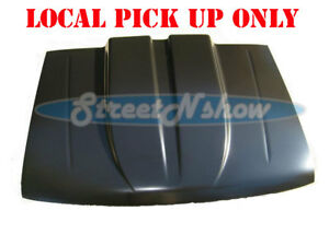 93 97 Ford Ranger Truck 2 Cowl Induction Hood Steel Cowl