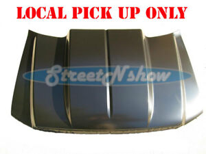 04 08 Ford F 150 Truck 2 Cowl Induction Hood Steel Cowl