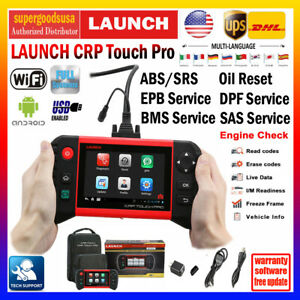 Launch X431 Crp Touch Pro Obd2 Car Diagnostic Scanner Code Reader Oil Reset Sas