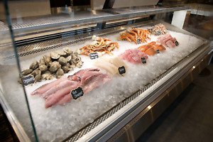 Artica Showcase Refrigerated Meat And Seafood Display Model Slls 96