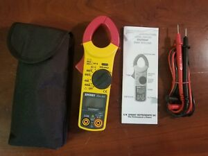Sperry Dsa 500 Digisnap Clamp Meter In Case C x