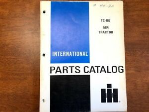International 584 Tractor Parts Catalog 058