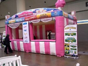 Commercial Inflatable Food Drink Concession Stand Tent Booth 20 x10 x13 New