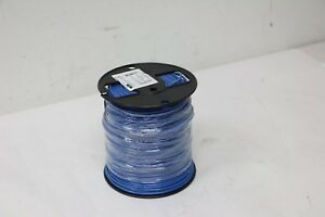 New 500ft Cerrowire Thwn 2 thhn 10awg 600v Blu Solid Copper Insulated Wire