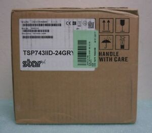 Star Micronics Tsp743iid 24 Point Of Sale Thermal Printer
