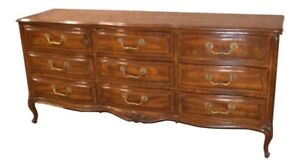 Vintage Henredon Four Centuries French Style Oak Dresser