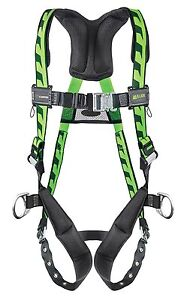 Miller By Honeywell Universal Duraflex Aircore Full Body Style Harness Large xl