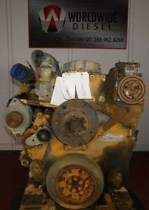 1999 Cat C12 2ks Diesel Engine Take Out 455 Hp Complete Good For Rebuild Only