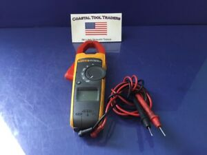 Fluke 373 True Rms Clamp Meter Electrical Voltage Tester a2